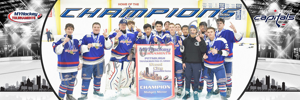 Greater Toronto Capitals Midget Minor Champions