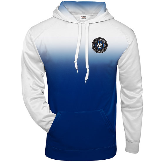 SCS-Performance Ombre Hoodie-Left Chest Logo