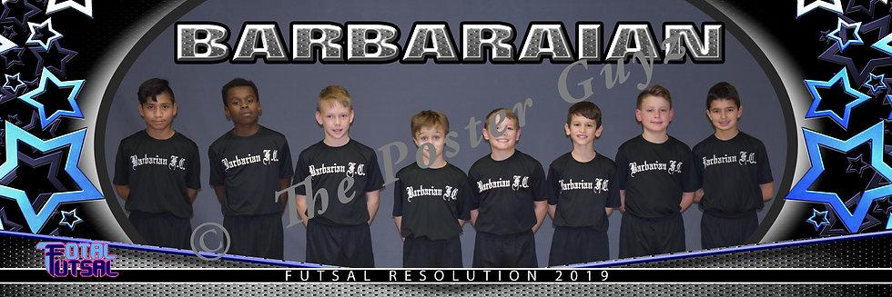 Barbaraian FC U12B Black U12B MLS