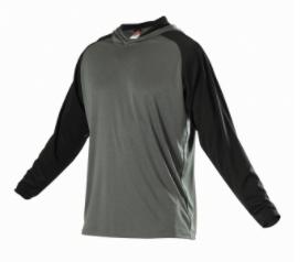 FlashSale!-Badger Hooded Shirt