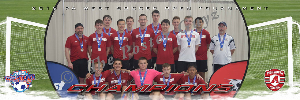 Avonworth U19 Boys Angel Champions