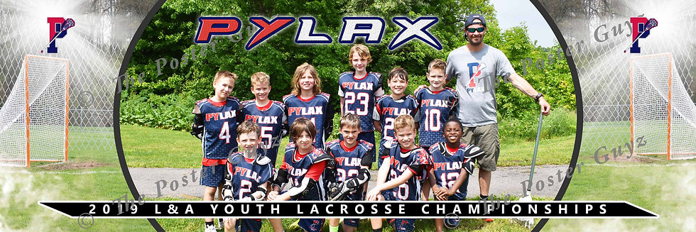 PYLAX 10U Boys Blue