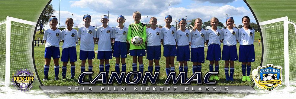 Canon Mac Lil Macs Girls U11 Gold