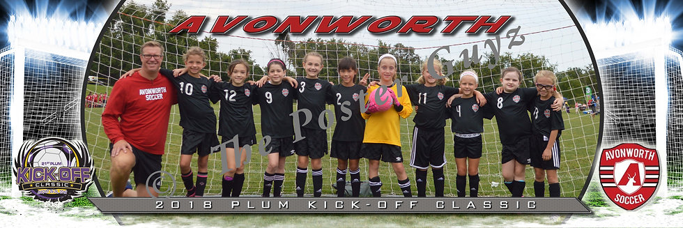 Avonworth U9 Bevington Girls U9