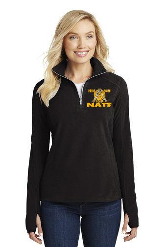 NATF-Women's Quarter Zip Fleece Jacket