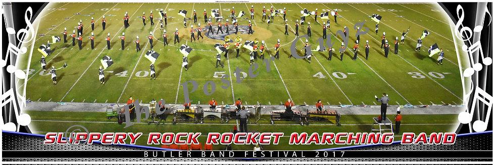 "Slippery Rock High School ""Rocket"" Marching Band version 3"