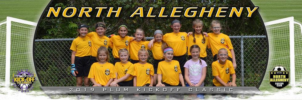 North Allegheny Tigers Remensky Girls U11