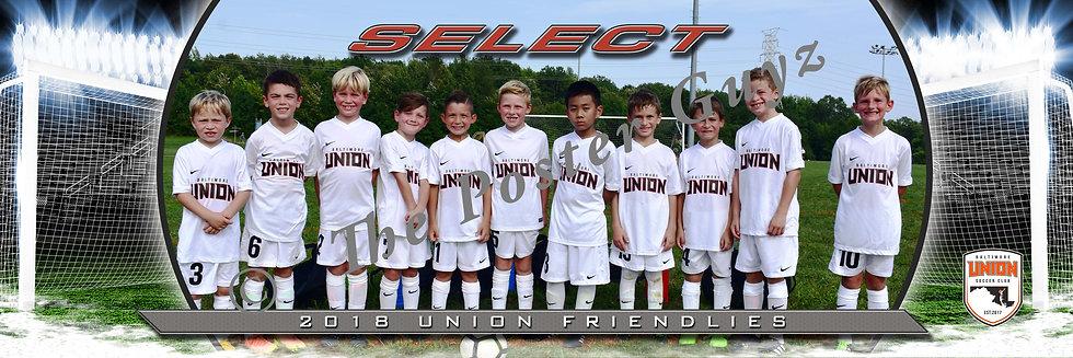 Baltimore Union 2011 Select BU8