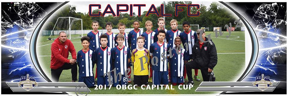 CAPITAL FC 05B RED Boys U13