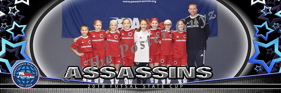 Assassins 08 Girls Red u11G