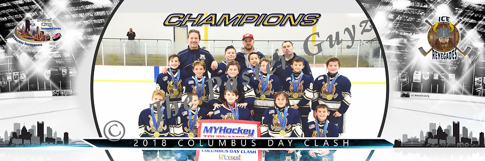 Steel City Ice Renegades Squirt B Champions