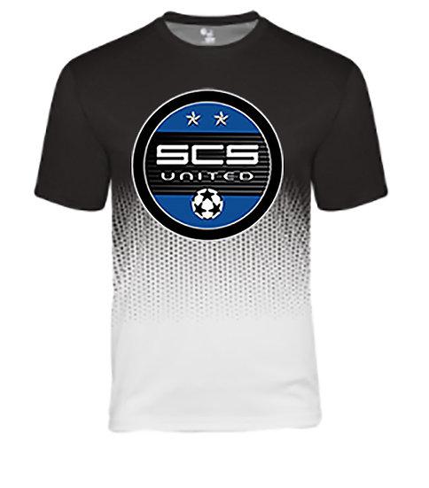 SCS-Badger Performance Hex Short Sleeve-Round Logo