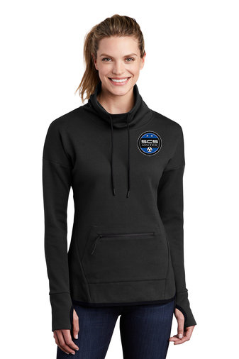 SCS-Women's Triumph Hoodie-Left Chest Logo