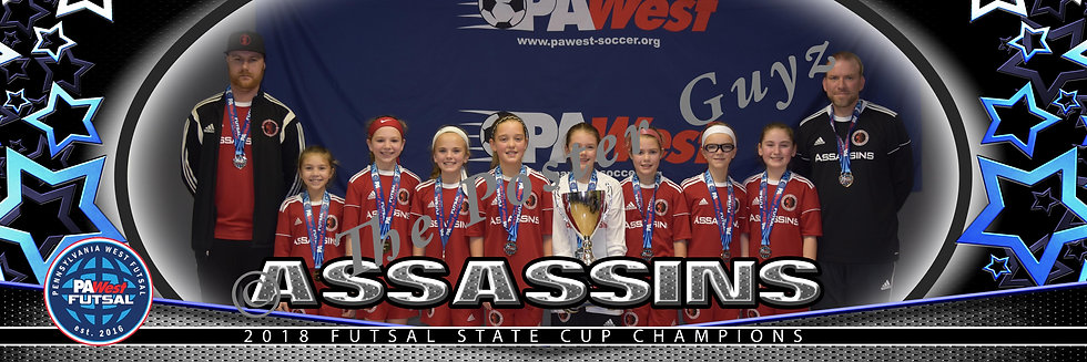 Assassins 08 Girls Red u11G Champions