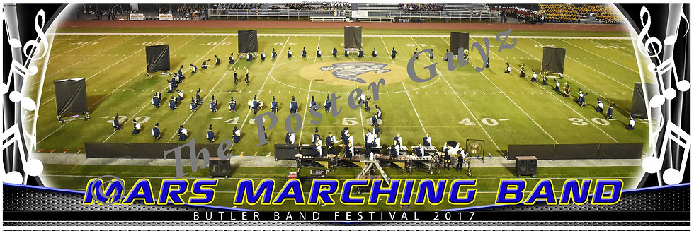 Mars Area High School Marching Band version 1