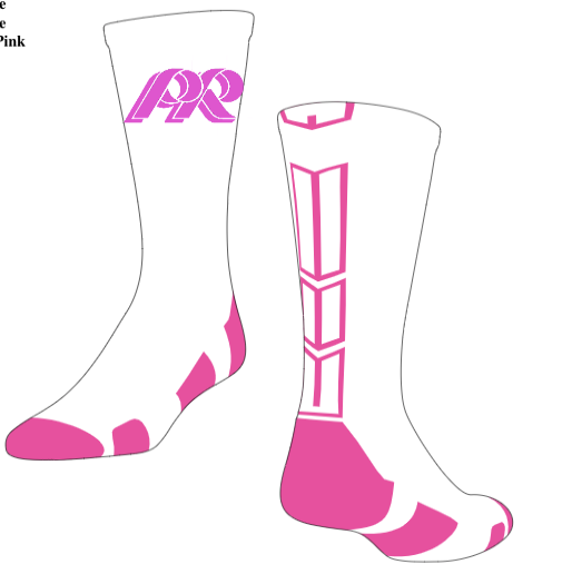 PRWexford-Pink Custom Socks