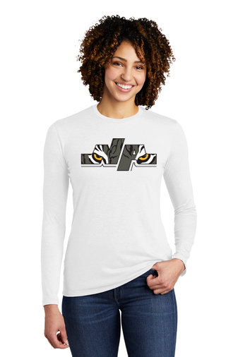 NAFH-Women's Allmade Recycled Long Sleeve-Eye Logo