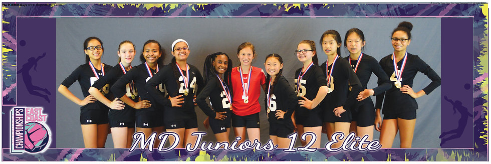 MD Juniors 12 Elite with Medals