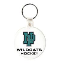 NP Wildcats-Keychain