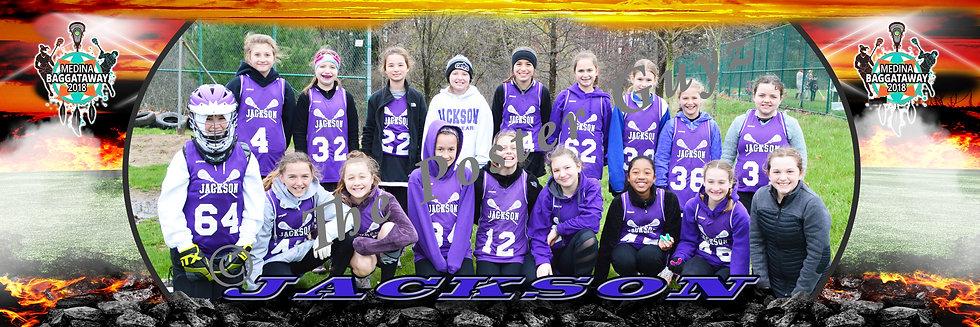 Jackson Girls 5-6 Gold D