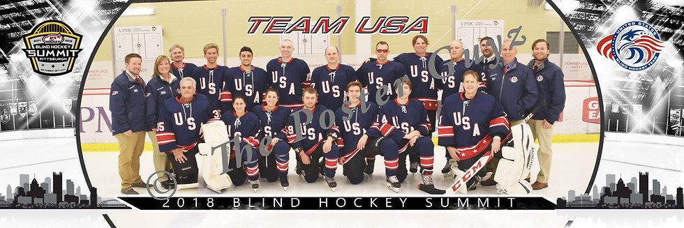 Blind Hockey Team USA
