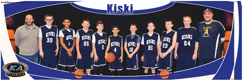 Kiski 6th Grade A with coaches