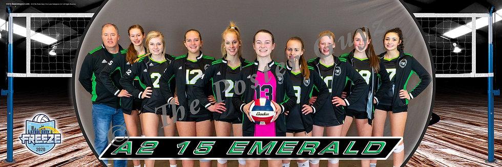 A2 15 Emerald (OV) - 15 Club