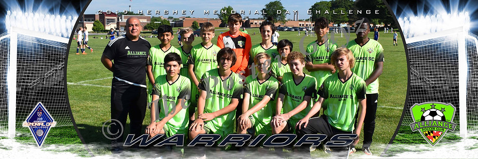 Alliance Warriors Premier U14B