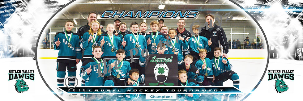 Butler Valley Dawgs Champions