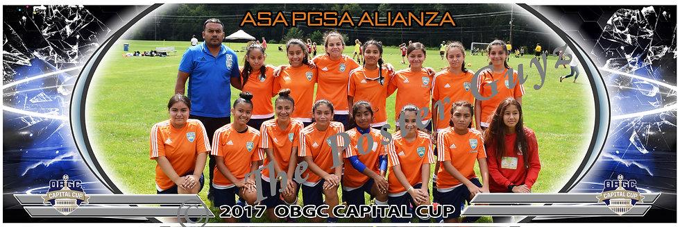 ASA PGSA CD ALIANZA Girls U14