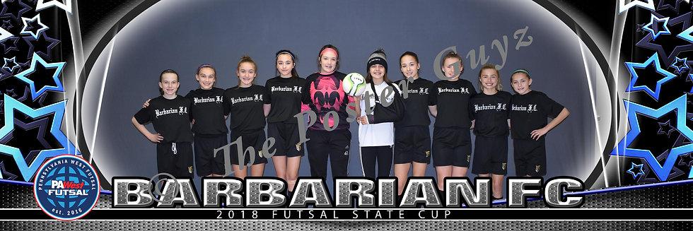 Barbarian FC 05 Girls u14