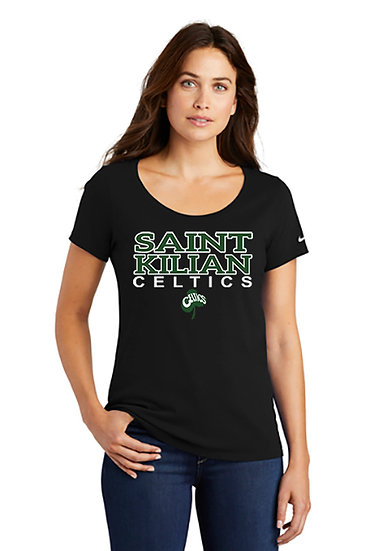 SaintKilian-Women's Nike Short Sleeve Shirt