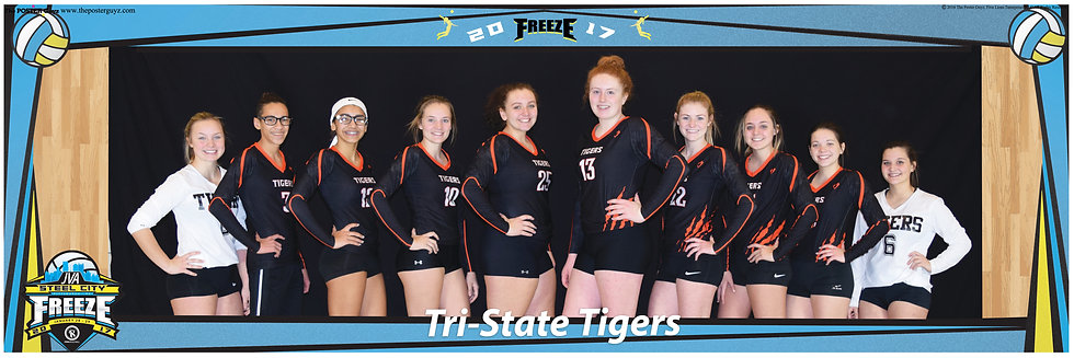 Tri-State Tigers 15 smiling