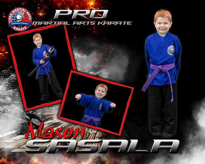 Mason 3 picture collage