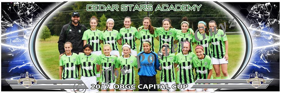 CEDAR STARS ACADEMY BERGEN WEST 04 GREEN Girls U14