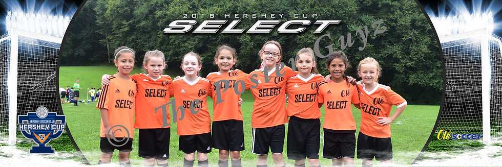 OLÉ SOCCER OLÉ SELECT '10 GIRLS ORANGE GU9