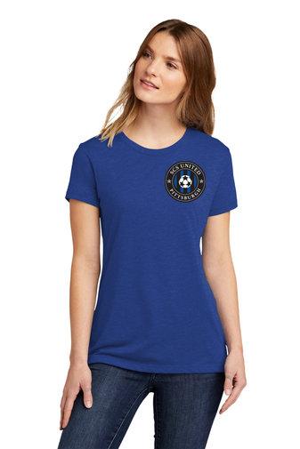 SCS-Women's Next Level Short Sleeve Shirt-Left Chest Logo