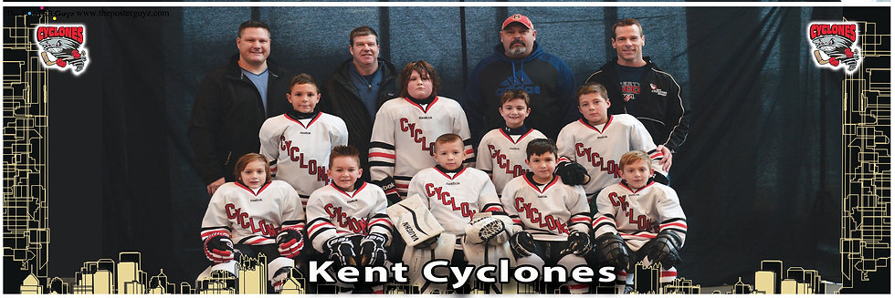 Kent Cyclones Red