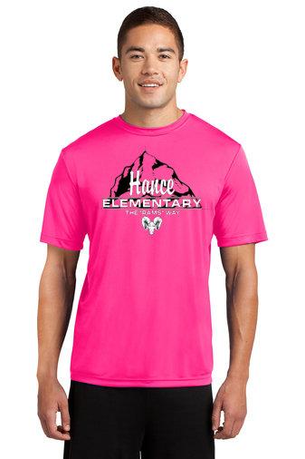 Hance-Pink Short Sleeve Dri Fit