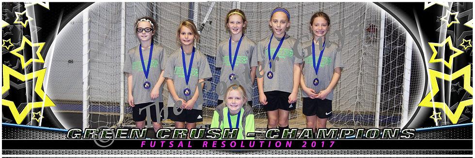 Green Crush u10G champs