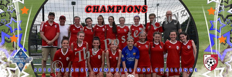 Rockville Centre SC Vipers u16G Champions