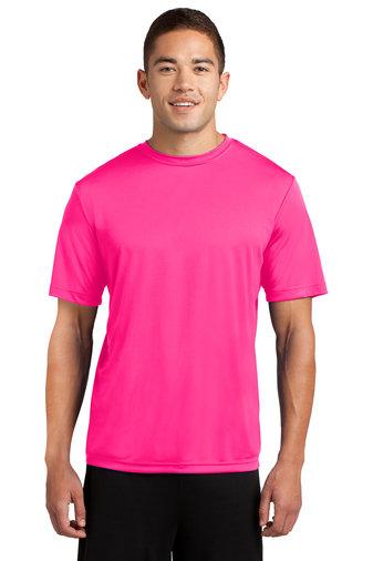 SVJuniorFootball-Pink Short Sleeve Dri Fit Shirt