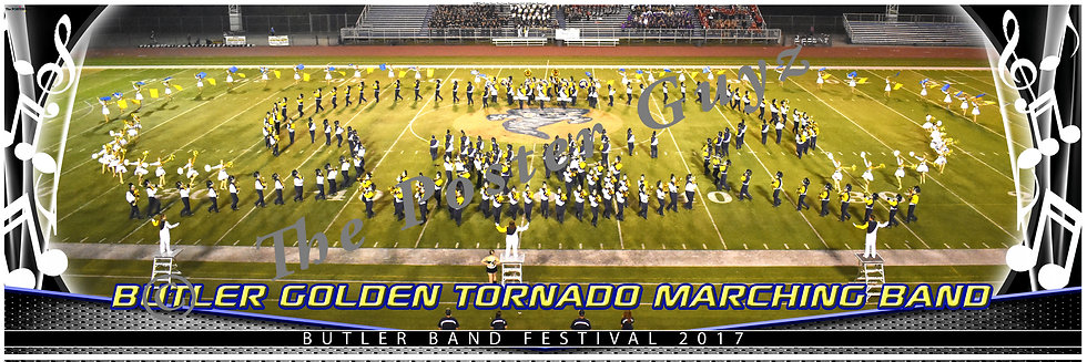 Butler Golden Tornado Marching Band version 2
