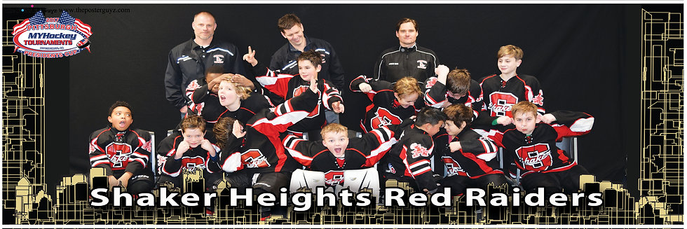Shaker Heights Red Raiders Squirt A-Funny