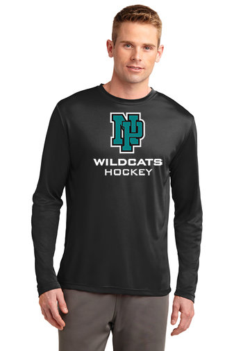 NP Wildcats-Long Sleeve Dri Fit-NP Logo
