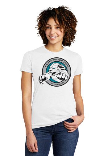 NP Wildcats-Women's Allmade Recycled Short Sleeve Shirt