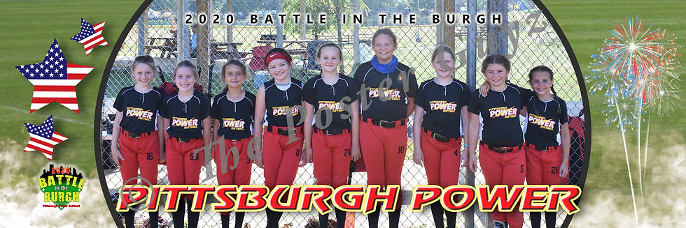 Pittsburgh Power 8U - Rote (08B)