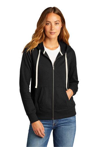 EarthDay: Women's District Re-Fleece Full Zip Hoodie