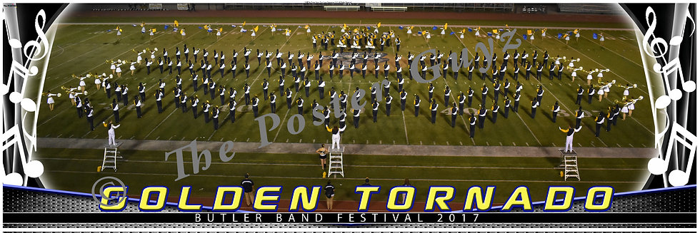 Butler Golden Tornado Marching Band version 6