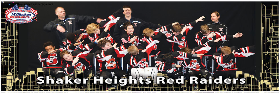 Shaker Heights Red Raiders Squirt A Dab